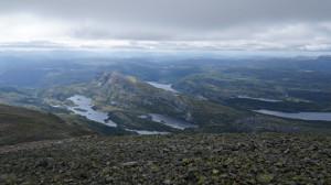 Blick vom Gaustatop