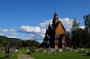Eine der breühmtesten Stabkirchen Norwegens