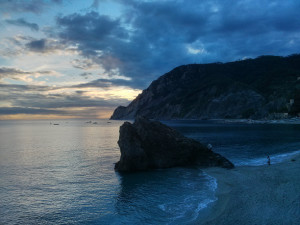 Ein letzter warmer Abend in Monterosso