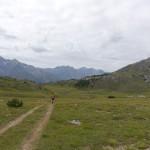 Unterwegs in Richtung Furcla del Gal (Buffalora)