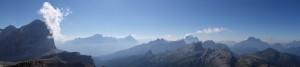 Panorama auf dem kleinen Laguzoi