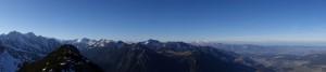Panorama auf der Mondspitze