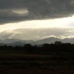 Blick zurück auf die Bergwelt Koriskas