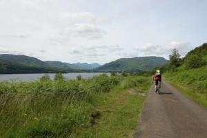 Entlang des Loch Katrine