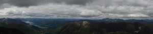 Gipfelpanorama mit Ben Nevis