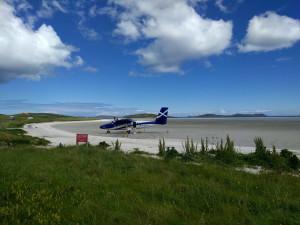 Der Flughaven von Barra