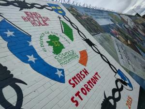 Aber hauptsächlich für Murals mit politischen Botschaften