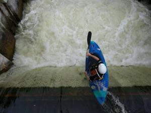 Auch Kayaker gibt's in Galway zu bestaunen