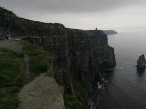Cliffs of Moher bei sehr undankbarem Fotowetter