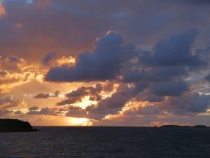 Sonnenuntergang in St. Malo