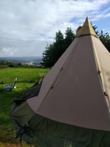 Camping mit Aussicht