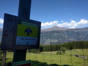 Der wohl berühmteste Trail im ganzen Vinschgau