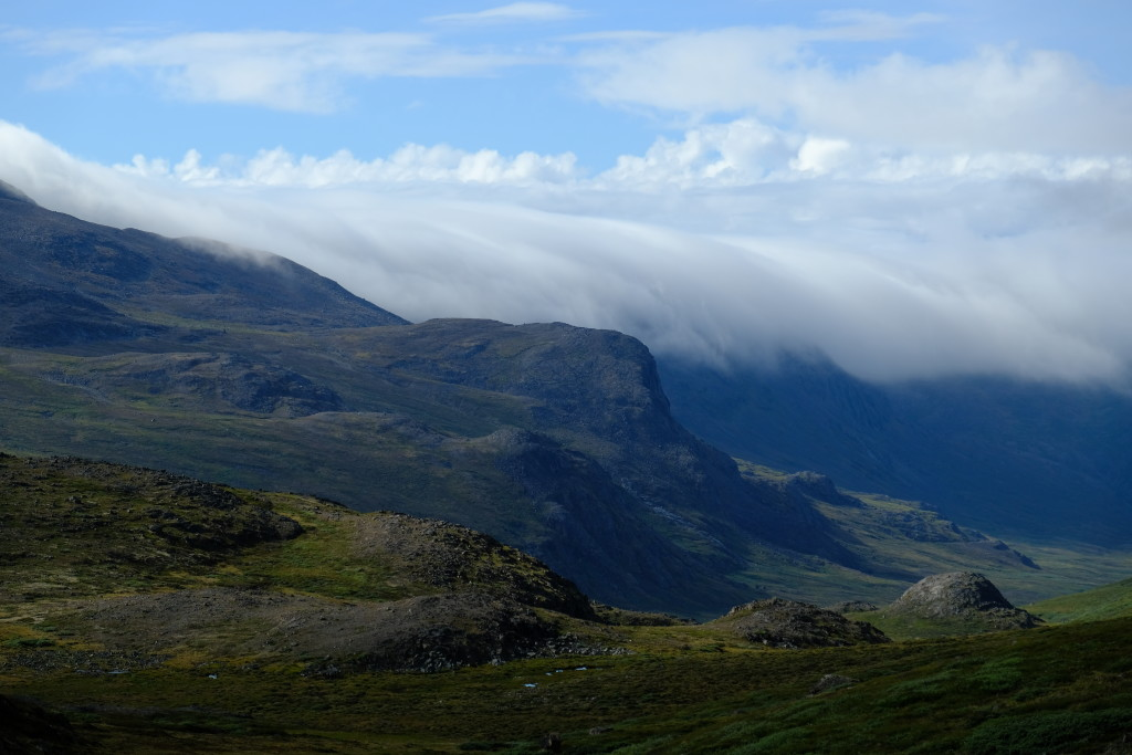 Wolkenband über Nerumaq