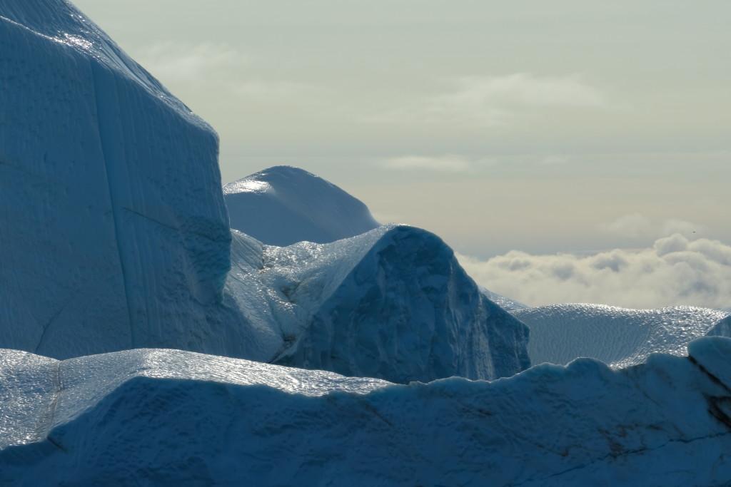 Und noch mehr Eisberge...