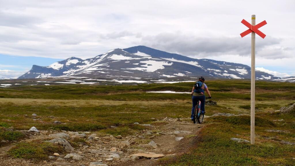 Unterwegs zur Helags Fjellstation